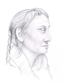 portrait zeichnen nr4